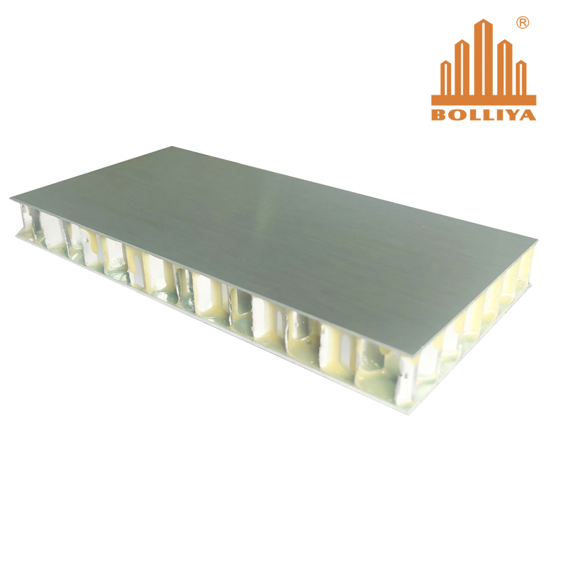 Titanium Zinc Honeycomb Panel