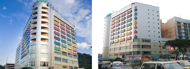 aluminium composite panel project
