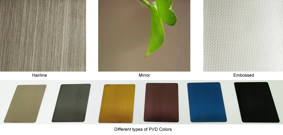 Stainless Steel Honeycomb Panel colors