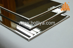 mirror stainless steel composite panel