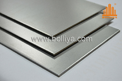 dull finish stainless steel composite panel