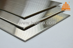 hairline stainless steel composite panel
